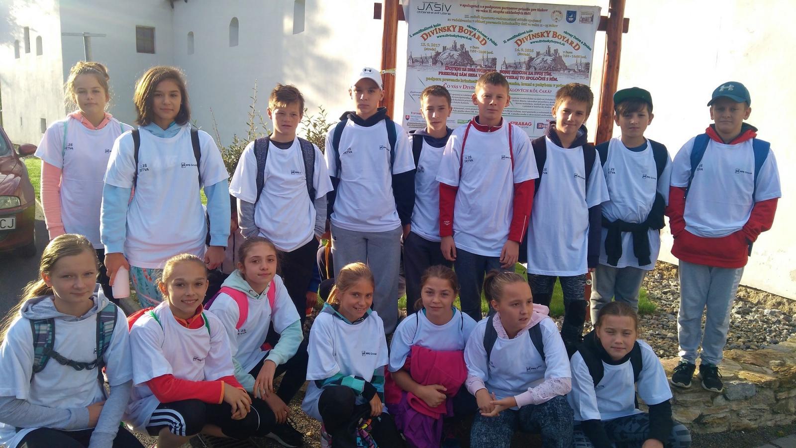 571c7c0b0 Školy z Podpoľania úspešné na Divínskom Boyarde