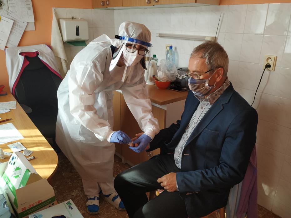 Test urobili aj riaditeľovi domova Štefanovi Kamenskému.